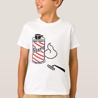 Shave Cream and Razor T-Shirt