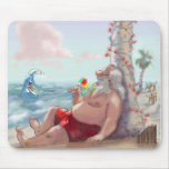 sHaVe IcE sAnTa Mouse Pad