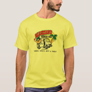 Shave Ice Truck Logo T-Shirt