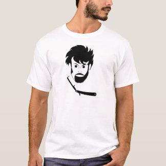 Shave - Man Shaving Beard - Shaved Beard T-Shirt
