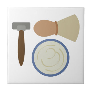 Shave Set Small Square Tile