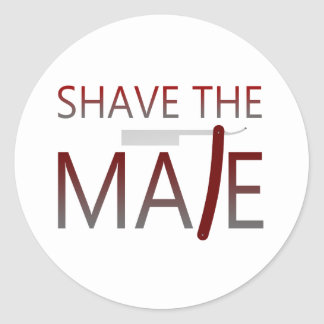 Shave The Mate Stickers