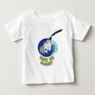 shave the planet tee shirt