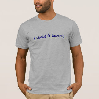 shaved and tapered T-Shirt
