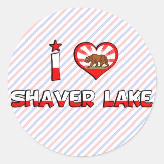 Shaver Lake, CA Classic Round Sticker