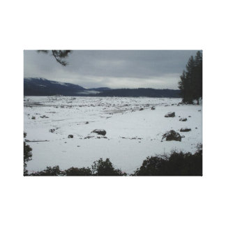 Shaver Lake Californina Gallery Wrapped Canvas