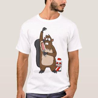Shaving Beaver T-Shirt