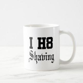 shaving coffee mug