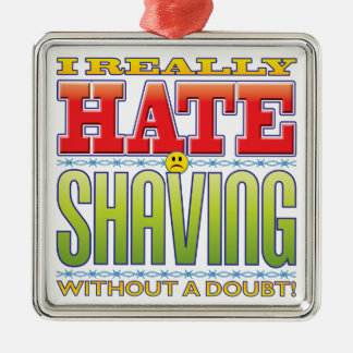 Shaving Hate Face Ornaments