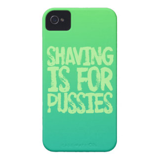 Shaving is for pussies iPhone 4 Case-Mate cases