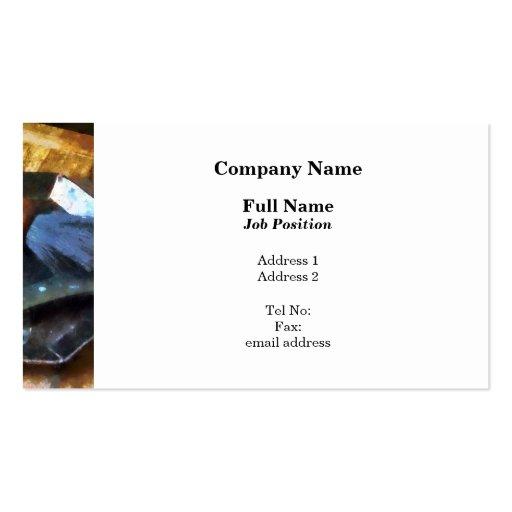 Shaving Kit Business Card Template
