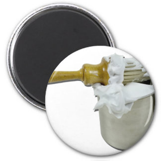 ShavingBrushCup090411 2 Inch Round Magnet