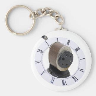 ShavingTime071709 Basic Round Button Keychain
