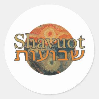 Shavuot Classic Round Sticker
