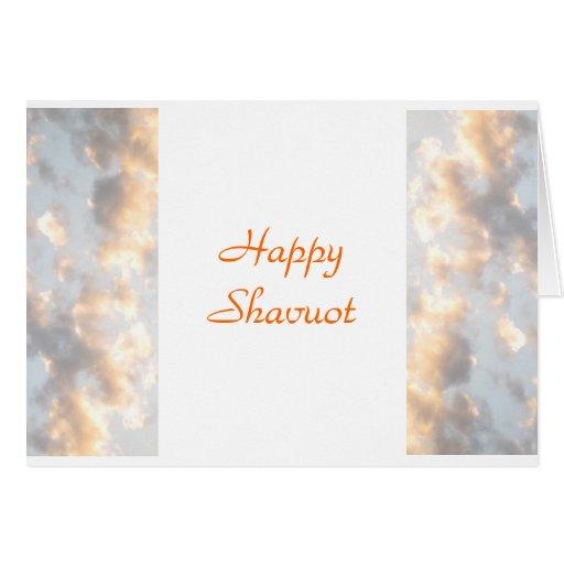 Shavuot feliz tarjeta