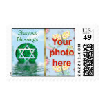 Shavuot Jewish holiday custom photo Stamp