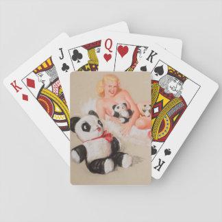 Shaw-Barton Calendar Company Pin Up Art Playing Cards