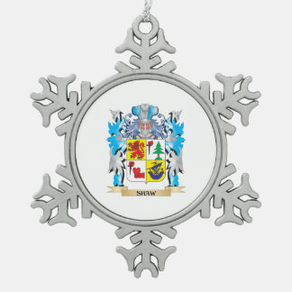 Shaw Coat of Arms - Family Crest Ornament