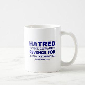 Shaw en odio tazas de café