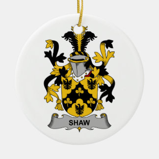 Shaw Family Crest Ornament
