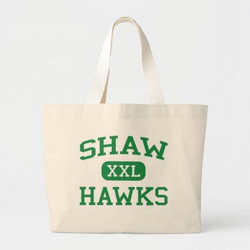 Shaw - Hawks - Shaw High School - Shaw Mississippi Tote Bags