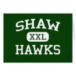 Shaw - Hawks - Shaw High School - Shaw Mississippi Greeting Cards