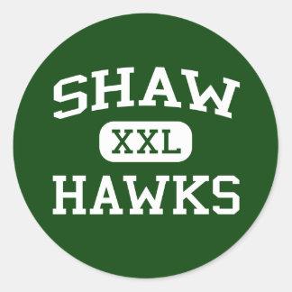Shaw - Hawks - Shaw High School - Shaw Mississippi Classic Round Sticker