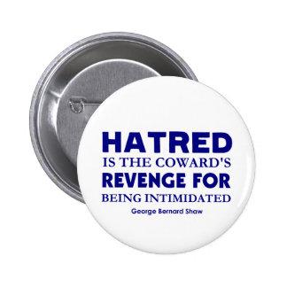 Shaw on Hatred 2 Inch Round Button