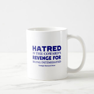 Shaw on Hatred Classic White Coffee Mug
