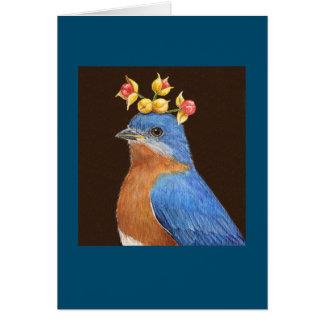 Shawn la tarjeta del bluebird