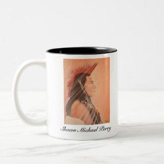 Shawn Michael Perry Limited Edition Two-Tone Coffee Mug