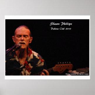 Shawn Phillips Dakota Club 2010 24x18 Poster