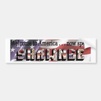 Shawnee Bumper Sticker