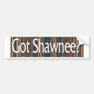 Shawnee Pegatina De Parachoque