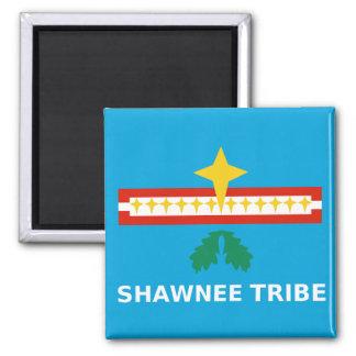 Shawnee Flag 2 Inch Square Magnet