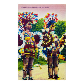 Shawnee Indian War Dancers, Oklahoma Posters