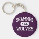 Shawnee - lobos - High School secundaria - Shawnee Llavero Redondo Tipo Pin