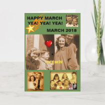 Shawnee Mama, happy March Card