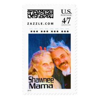 Shawnee Mama Postage Stamp