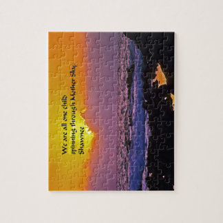Shawnee Quote Jigsaw Puzzles