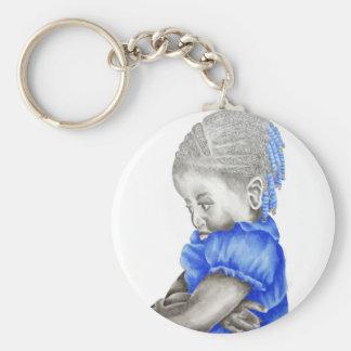 Shay Blue Keychain