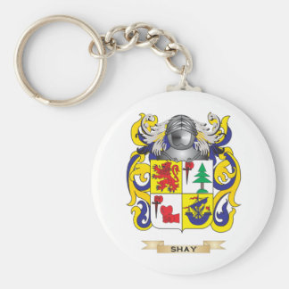 Shay Coat of Arms (Family Crest) Key Chain