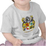 Shay Coat of Arms (Family Crest) T-shirts