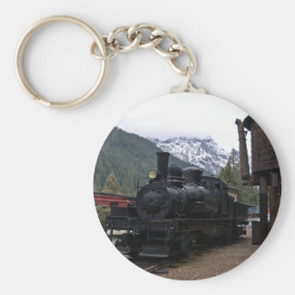 Shay Locomotive and Tower Keychains