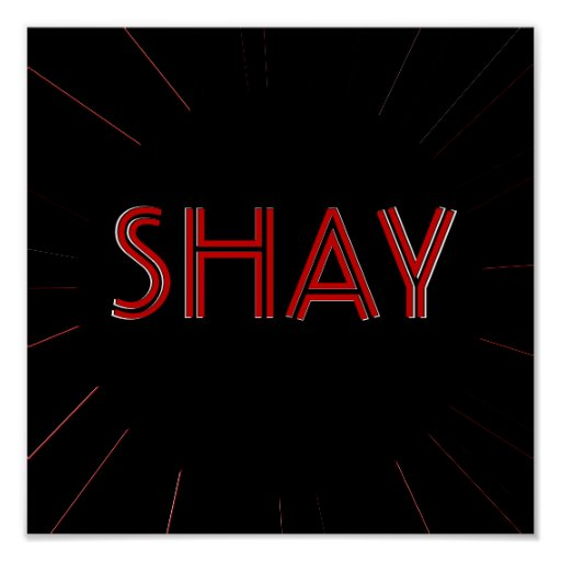 SHAY Poster