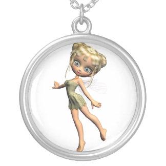 Shaylee Round Pendant Necklace
