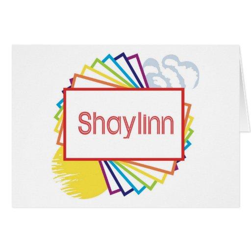 Shaylinn Felicitación