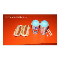 SHAYNE HERRERA- HOT DOGS AND ICEES BUSINESS CARD TEMPLATE