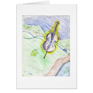Shayne's Cello Card