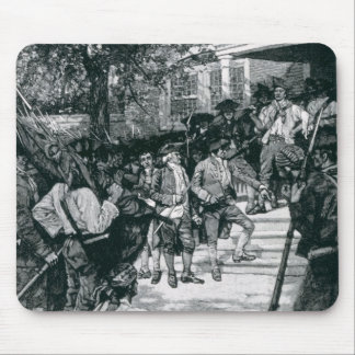 Shays's Mob in Possession of a Courthouse Mouse Pad